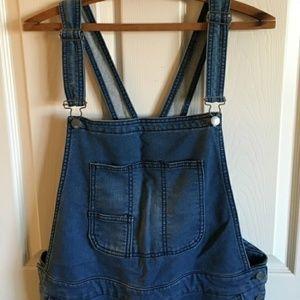 Mossimo denim overalls